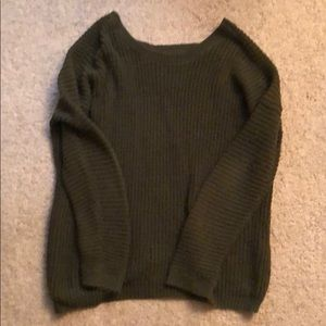 Olive/military green sweater